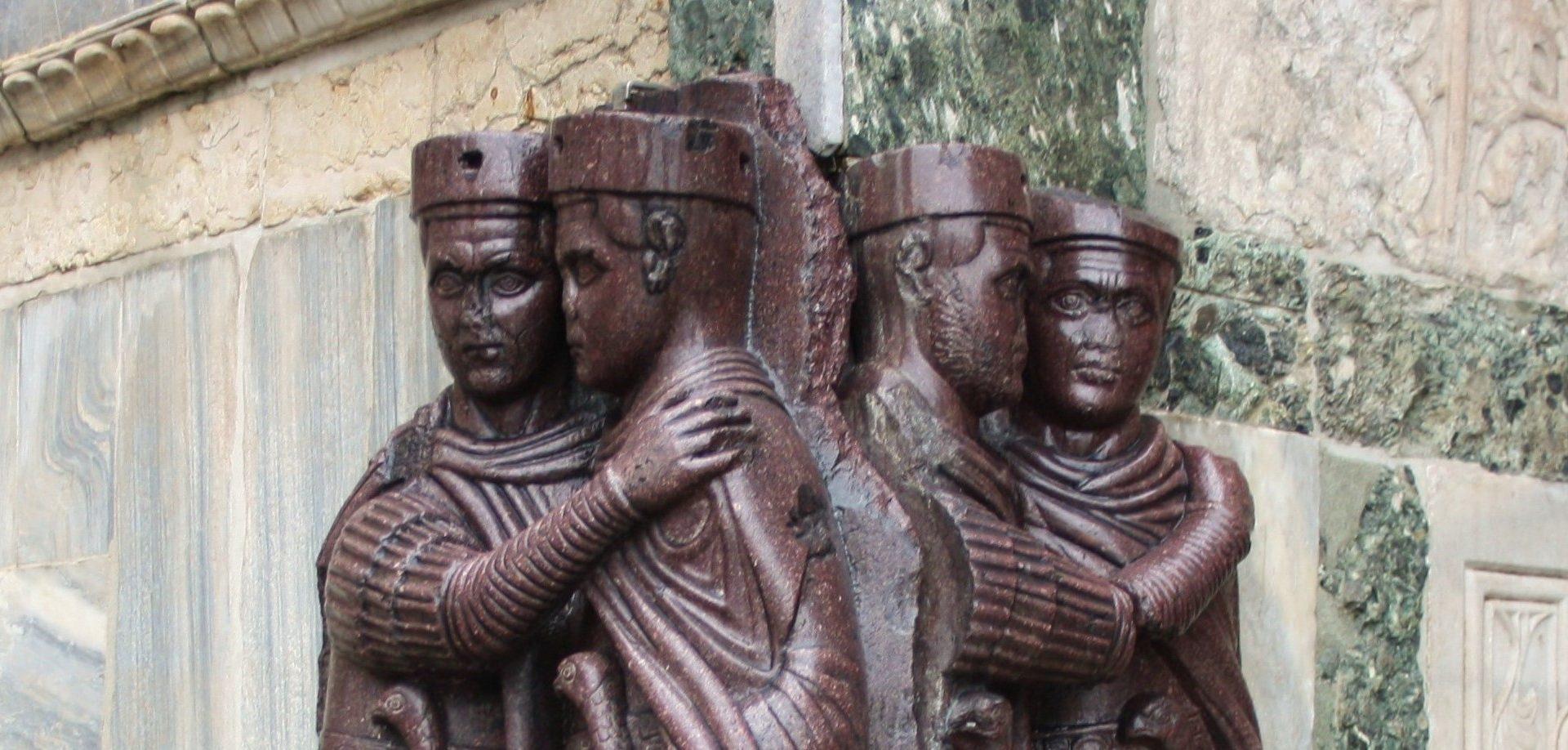 Los cuatro Tetrarcas (Foto Sofia Muñoz)