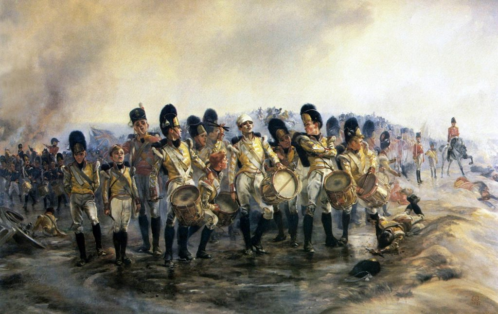 """Steady the Drums and Fifes"" (1897), Elizabeth Southerden Thompson, Lady Butler"