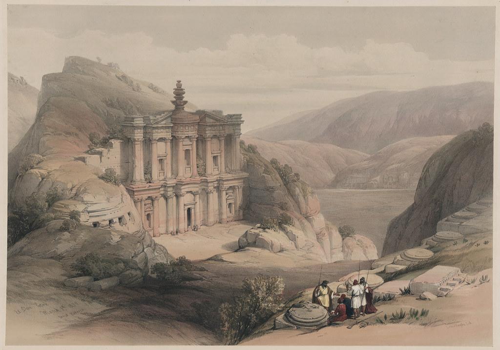 Ciudad perdida de Petra de David Roberts
