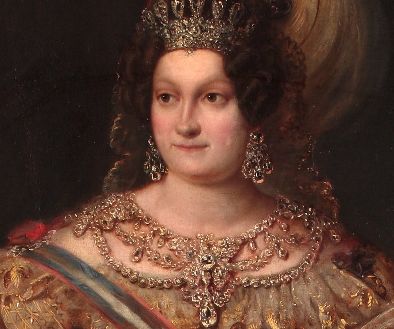 Maria Cristina de Borbon de Valentin Carderera 8 (Museo del Romanticismo)