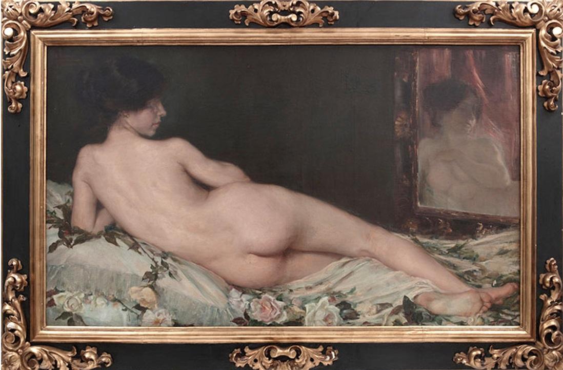 Desnudo Femenino 1908 Diputación de Granada, Colección de Granada